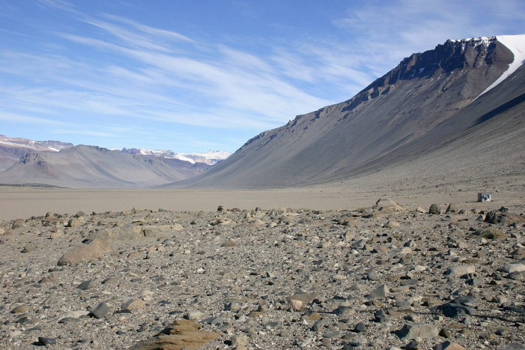 The Antarctica Desert