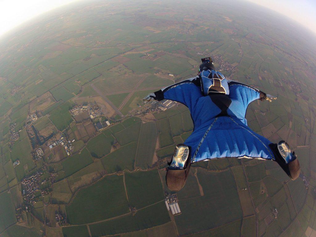 Wingsuit Fying