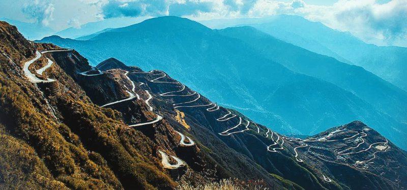 Sikkim to Gangtok Silk route